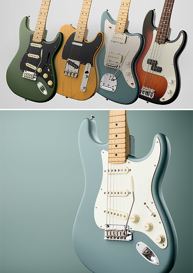 Fender American Professional Series at werd.com