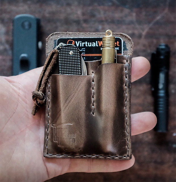 Hitch & Timber EDC Wallet at werd.com