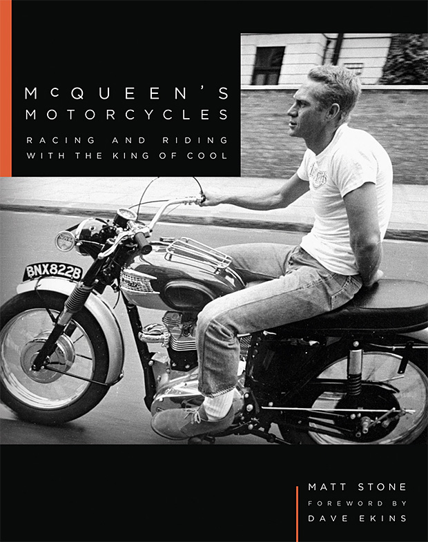 McQueen's Motorcycles: Racing and Riding with the King of Cool at werd.com