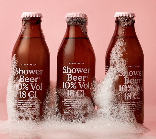 Shower Beer at werd.com