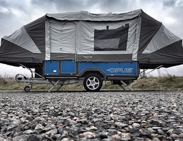 Air OPUS Is The World's First Air Frame Soft-Top Camper