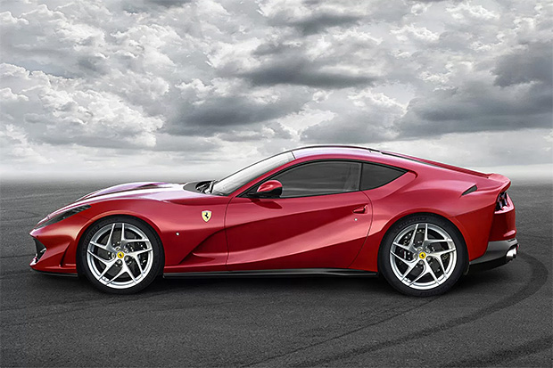 Ferrari's 812 Superfast is it's Fastest Car Ever at werd.com