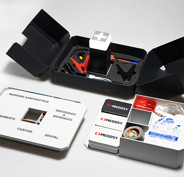 Meddsy is a Next Generation Smart Emergency Kit at werd.com