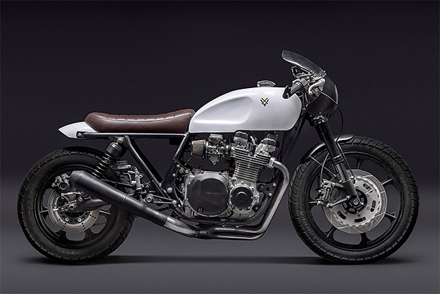 Stefano Venier Masterfully Upgrades a Kawasaki KZ 1000 LTD at werd.com