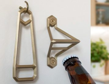 Wander Workshop Offers Brass Openers with the Leverage Collection