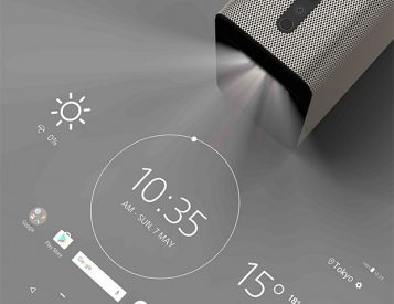 Watch, Play & Interact with The Xperia Touch Home Projector
