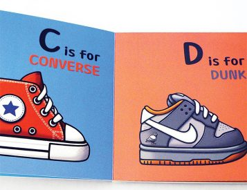 ABC's for the Little G's Blends Sneaker Culture & The Alphabet