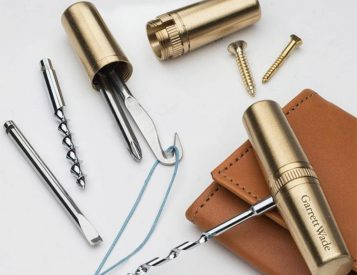 This Pocket-Size Brass Multi-Tool is a Slim & Versatile Piece of EDC Gear