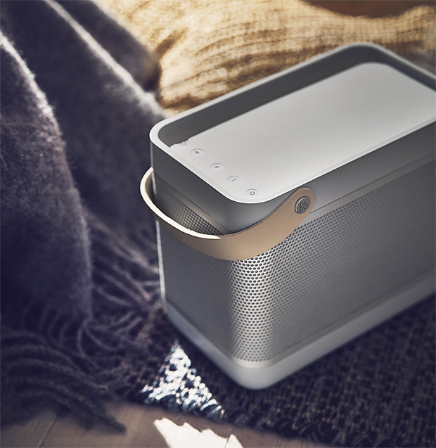 The Beolit 17 Wireless Speaker Combines Big Sound & Scandinavian Design at werd.com