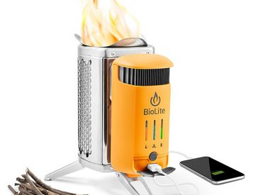 The CampStove 2 from BioLite Now Packs 50% More Power for Charging Your Devices