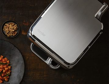 The World's First Precision Grill Delivers Gourmet Results That Make You Feel Like a Pro Chef