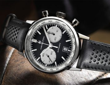 The Hamilton Intra-Matic 68 is a Modern Chrono Inspired by a 60s Classic