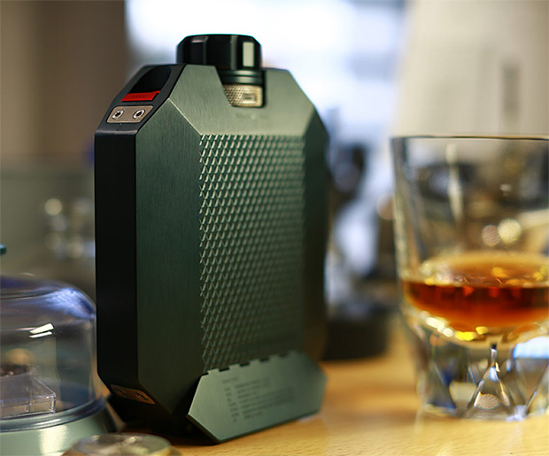 The MacAllan x URWERK Flask is a Werk of Art at werd.com