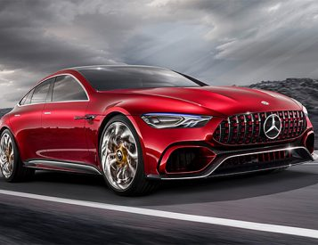 Believe It: The Mercedes AMG GT Concept is a Hybrid With 805 Horsepower