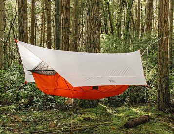 The Quarter Dome Air from REI is a Tent That Hangs in the Trees
