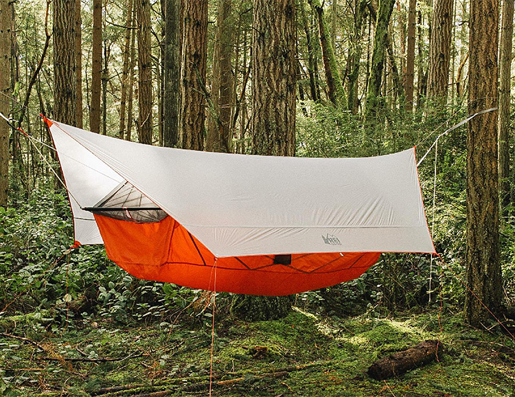 The Quarter Dome Air from REI is a Tent That Hangs in the Trees at werd.com