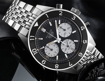 Tag Heuer Reinvents the Classic Autavia Diver's Chronograph