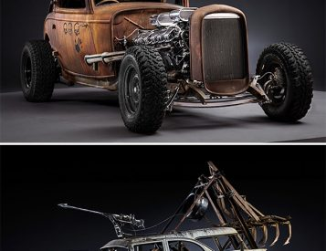 The Post-Apocalyptic Rides Of Mad Max: Fury Road. Yes, They're Real.