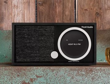 The Tivoli Model One Digital Combines Retro Style with Convenient, Modern Audio Function