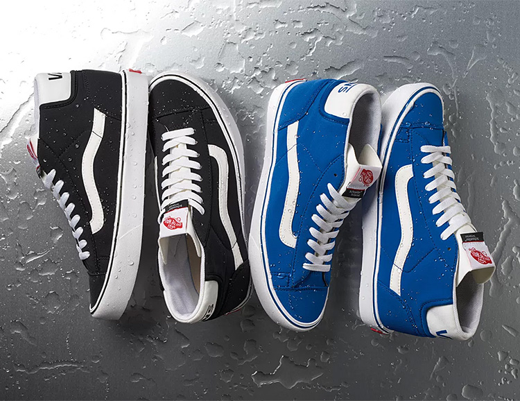 Waterproof, Weatherproof Vans Classics Made With High-Tech Schoeller Fabrication at werd.com