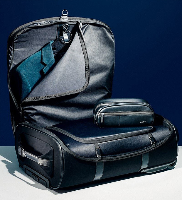 Wrinkle-Free Luggage From Vocier Featuring Patented Zero-Crease Technology at werd.com
