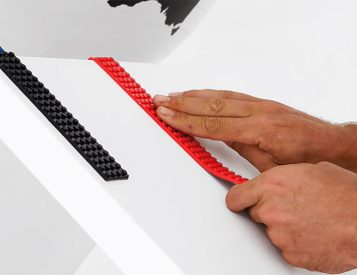 Take Your Legos Where They've Never Gone Before with Lego-Compatible Adhesive Tape