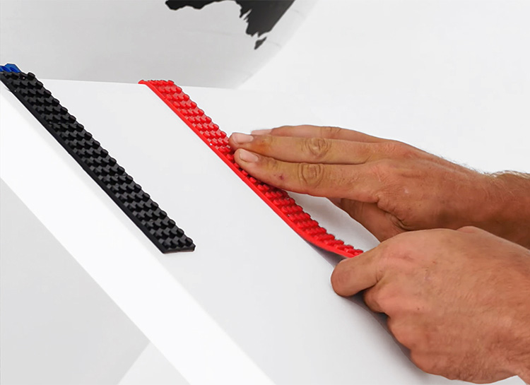 Take Your Legos Where They've Never Gone Before with Lego-Compatible Adhesive Tape at werd.com