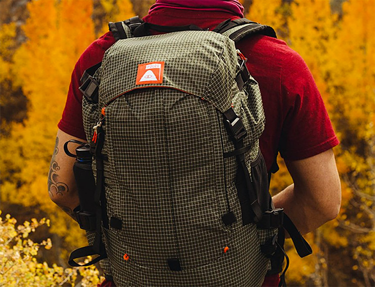 Poler Packs Their Orange Label Rucksack With Trail-Worthy Tech at werd.com