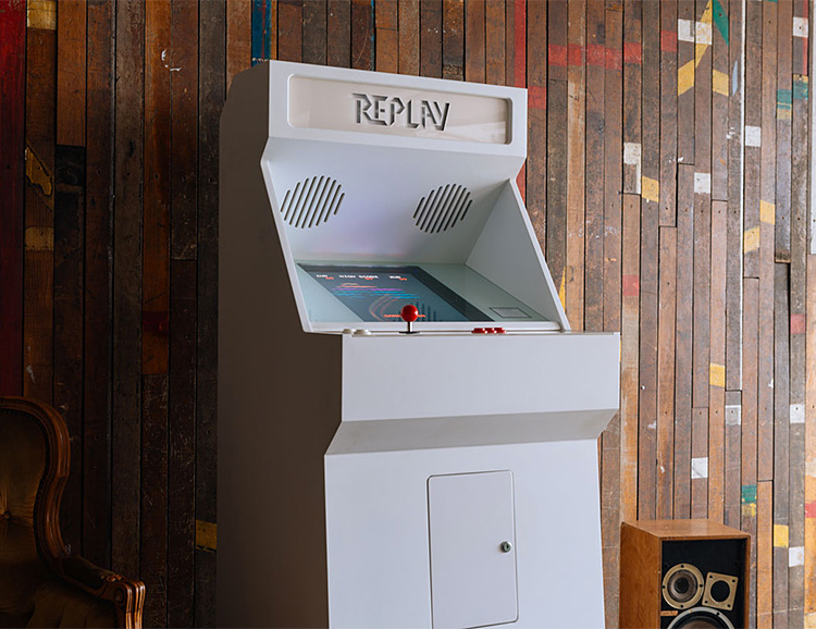 Create a Home Arcade Console that Matches Your Décor at werd.com