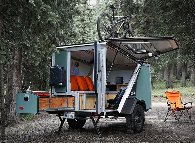 The TigerMoth is a Compact Camper That Lets You Live Large in the Great Outdoors at werd.com