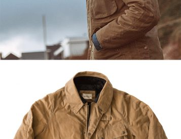 A Versatile, 3-Season Jacket From Whipping Post Made For the Modern Explorer