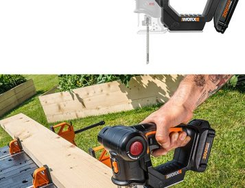 The Axis Portable Saw Quickly Converts from Jigsaw to Reciprocating Saw, Tool-Free