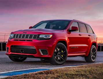 Jeep Announces the 707-Horsepower Grand Cherokee Trackhawk