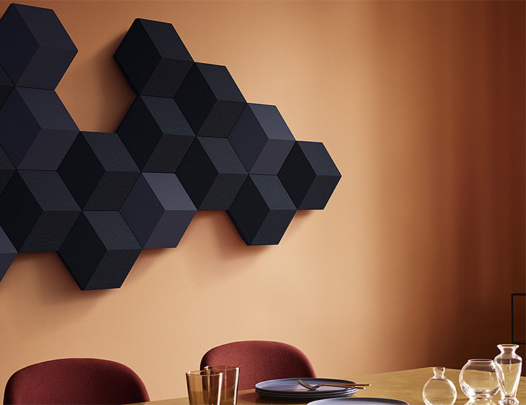 Get Off The Wall Sound with the BeoSound Shape Speaker System at werd.com
