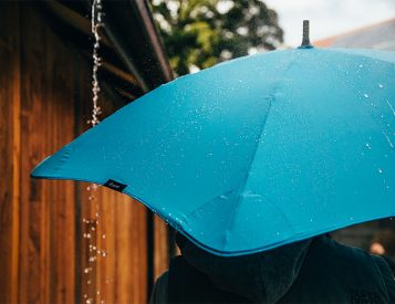 Blunt Umbrellas are Wind-Tunnel Tested & Approved