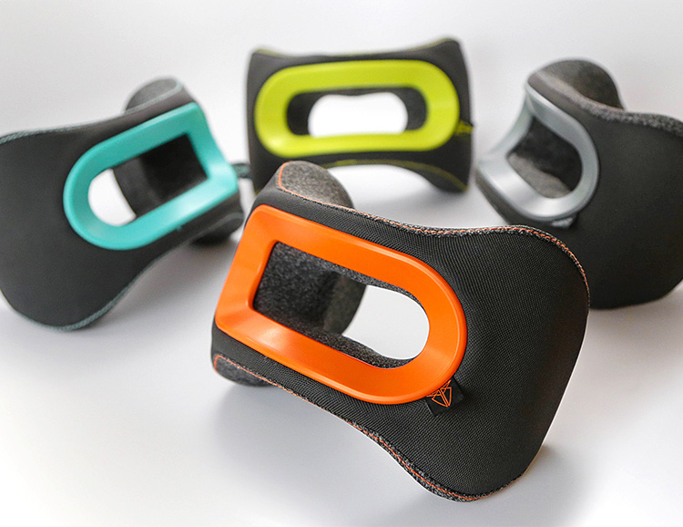 Heads Up: The BullRest Travel Pillow Features Memory Foam Padding at werd.com