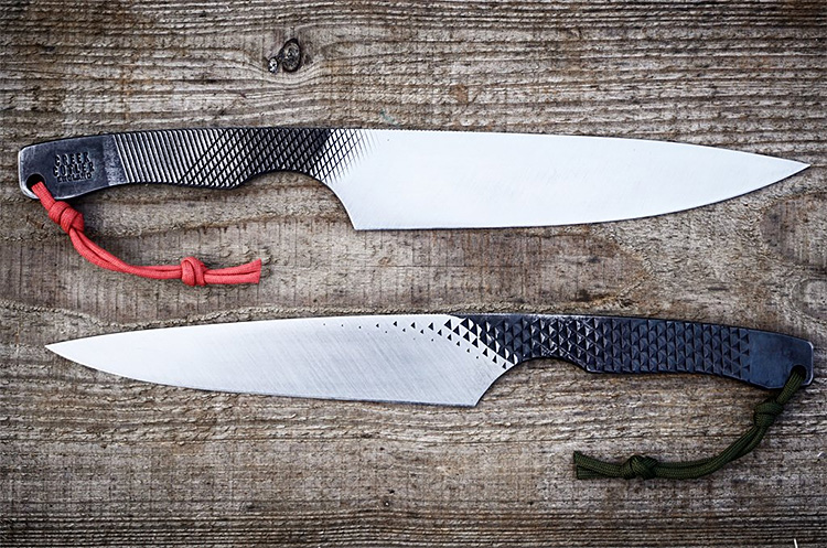 how to make a knife out of a file