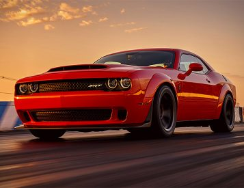 The Dodge Challenger SRT Demon Makes Other Muscle Cars Look Weak