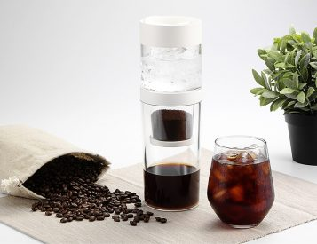 Dripo is an Ice Drip Coffeemaker That Fits in the Palm of Your Hand