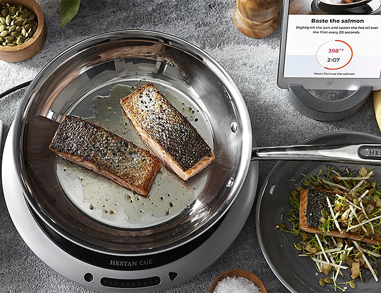 This Smart Induction Burner & Fry Pan Gives You Instant Chef Skills at werd.com
