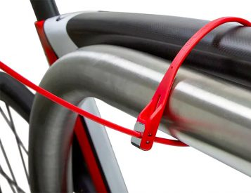 Legit Bike Protection from a Zip-Tie Style Lock