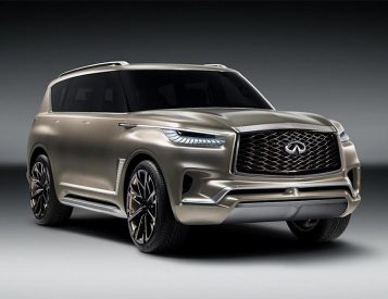 Infiniti's New QX80 Monograph is a Jumbo SUV with a Floating Roof
