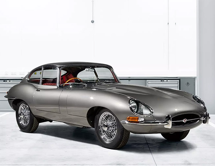 Jaguar Series 1 E-Type, a Classic Reborn at werd.com