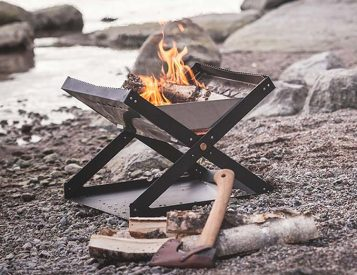 This Portable Firepit Brings the Heat Without Breaking the Rules
