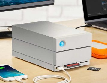 Go Big With LaCie's 2big Dock Thunderbolt Drive