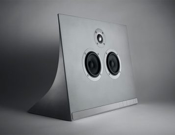 This Concrete MA770 Speaker from Master & Dynamic Really Rocks