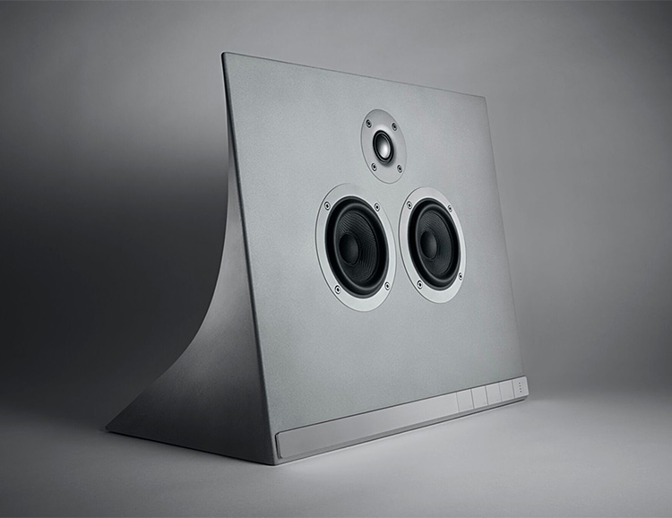 This Concrete MA770 Speaker from Master & Dynamic Really Rocks at werd.com