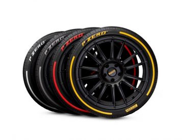 Pirelli P Zero Tires Deliver Colorful Custom Style & App-Driven Performance Data
