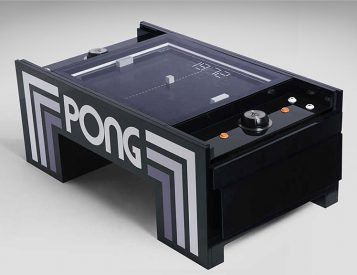 The Pong Table is an Atari Classic Like You've Never Played Before