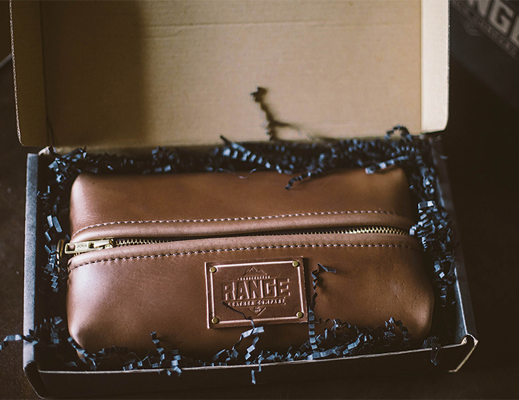 This Horween Leather Dopp is So Tough It's Got a Lifetime Guarantee at werd.com